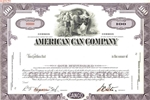 American Can Company Specimen Stock Certificate