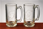 Bull & Bear Beer Mugs -25 Oz - Cool Beer Mugs