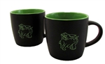 Fighting Bull & Bear Coffee Mugs -Lime Cafe