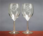 Bull & Bear Wine Glasses - Unique Wine Glasses