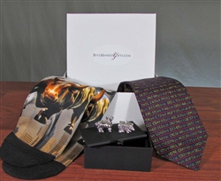 Stock Market Tie, Socks, & Cufflinks Gift Set