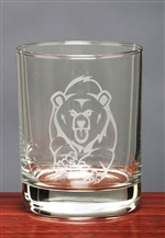 Bear Whiskey Glasses set of 4