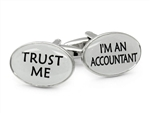 Trust Me Accountant Cufflinks