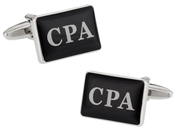 CPA Cufflinks for Accountants