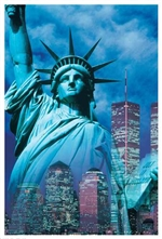 New York - Statue of Liberty Print
