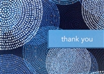 Blue Dot Thank You Card
