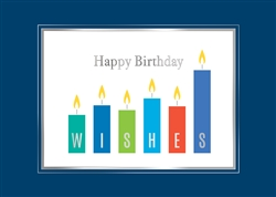 Bar Graph Birthday Wishes Birthday Card