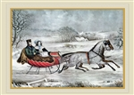Currier & Ives - The Road Holiday Card