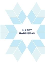 Hanukkah Star - Holiday Greeting Card
