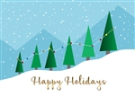 Holiday Tree Graph Card
