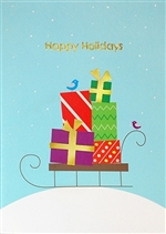 Holiday Sled Card