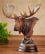 Twig Eater - Moose Sculpture