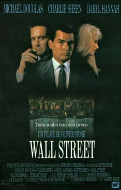Wall Street Movie Poster - Brazil