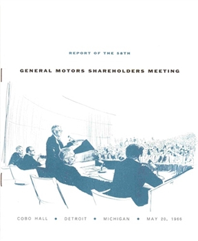 Report of the 58th Annual Meeting of General Motors Shareholders