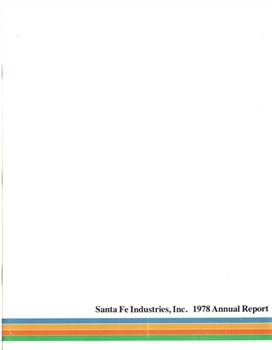 1978 Santa Fe Industries, Inc.  Annual Report