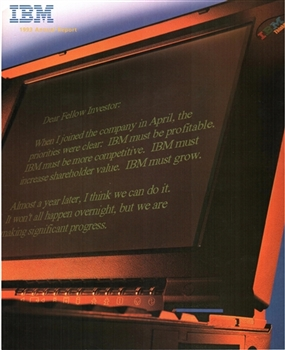 1993 IBM Annual Report