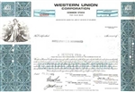 Western Union Corporation Stock Certificate