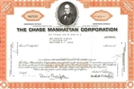 The Chase Manhattan Corporation Stock Certificate