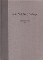 1938 New York Stock Exchange (NYSE) Year Book
