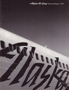 1992 Alaska Air Group Annual Report