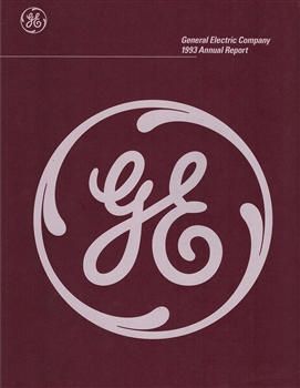 1993 General Electric (GE) Company Annual Report