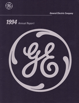 1994 General Electric (GE) Company Annual Report