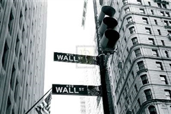 Wall Street Crossing Giclee Print