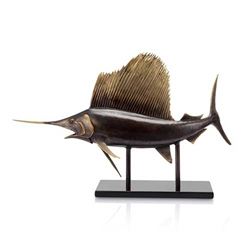 Museum Sailfish Sculpture
