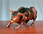 The Wall Street Bull Statue  - Small