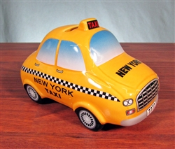 New York Taxi Cab Coin Bank