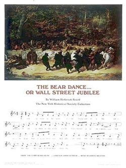 Wall Street Jubilee Sheet Music Poster