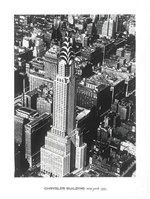 Chrysler Building - New York 1935 Print