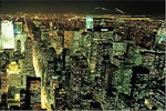 New York City at Night Print