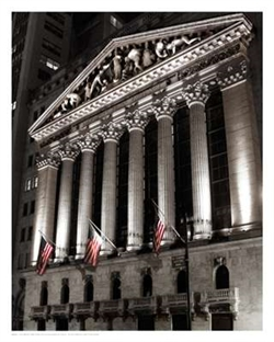 NYSE at Night by Phil Maier