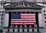 New York Stock Exchange Flag Print