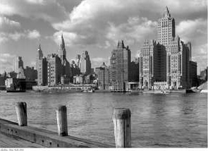 1931 New York Skyline Print