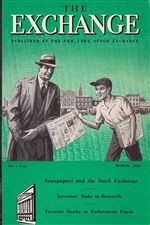 The Exchange Magazine - March 1953