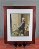 Investment Banker Overlooking Wall Street - Vintage
