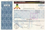 Atari Corporation Stock Certificate