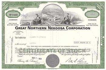 Great Norther Nekoosa Corp. Stock