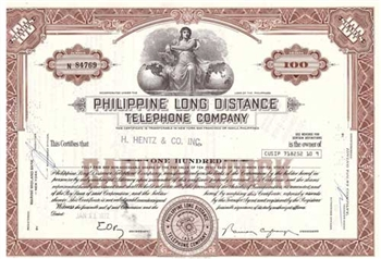 Philippine Long Distance Telephone Company Stock
