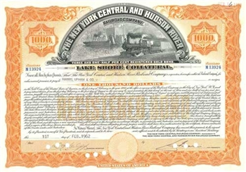 The New York Central and Hudson River Railroad Company - Orange