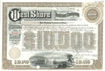 West Shore Railroad Company Bond Certificate