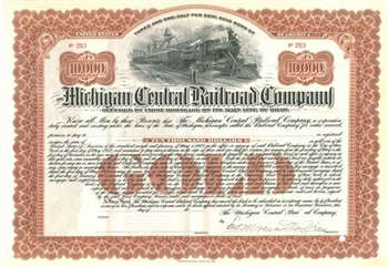Michigan Central Railroad Company - Red