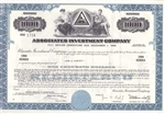 Associates Investment Company Bond - Blue