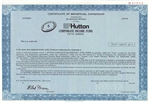 EF Hutton Corporate Income Fund Certificate