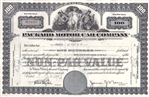 Packard Motor Car Company Stock Certificate