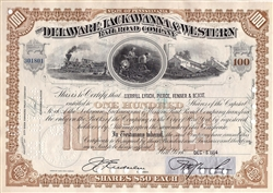 The Delaware, Lackawanna & Western Rail Road Company - Brown