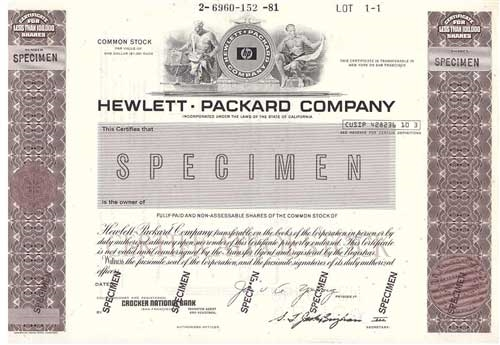 hewitt packard company Hewlett packard company (commonly known as 'hp') (nyse: hpq) is one of the largest it companies founded by bill hwelett and dave packard.