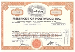 Frederick's of Hollywood, Inc. Stock - Issued Merrill Lynch